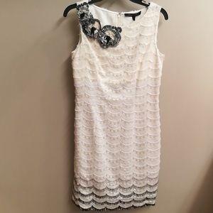 NWT Cynthia Steffe ivory dress, size 2